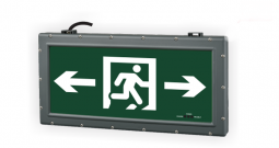 What is the difference between an intelligent fire evacuation system and an ordinary emergency light?